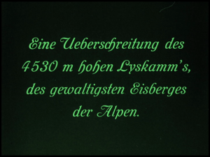 deppenapostroph 1920 (im kampf mit dem berge)